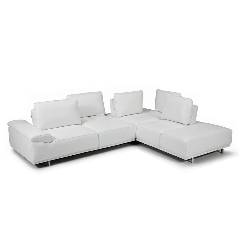 Magnificent Roxanne Sectional Leather Sofa For Sale Sherwood Studios Gmtry Best Dining Table And Chair Ideas Images Gmtryco
