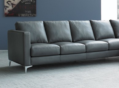 Fine 4 Seat Double Deep Leather Sectional Sofa Kendall Short Links Chair Design For Home Short Linksinfo